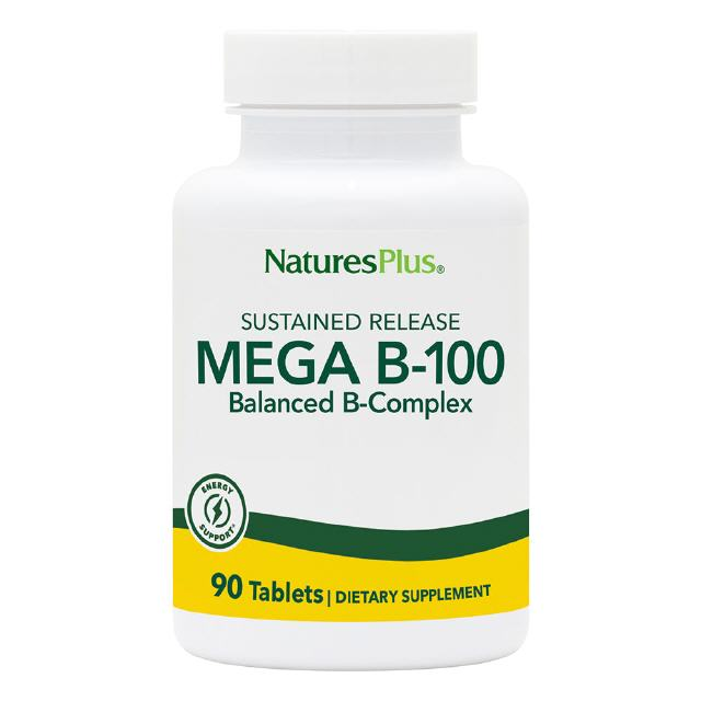 Mega B-100 mg S/R 90 Tabletten Natures Plus