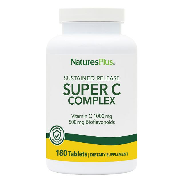 Super C Complex 1000 mg S/R 180 Tabl. Natures Plus