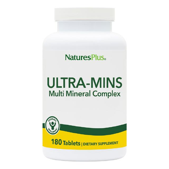 Ultra Mins Multi-Mineral 90 Tabl. Natures Plus