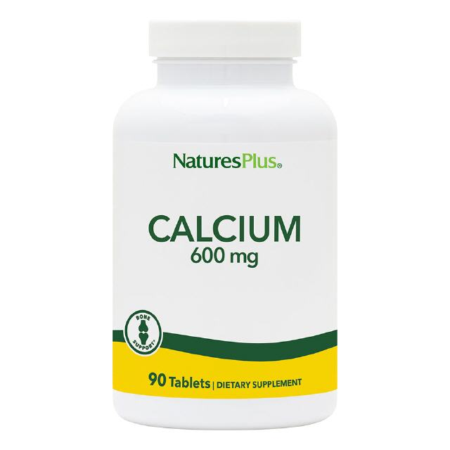 Calcium  600 mg  90 Tabletten  Natures Plus