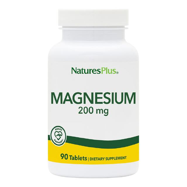 Magnesium 200 mg  90 Tabletten Natures Plus