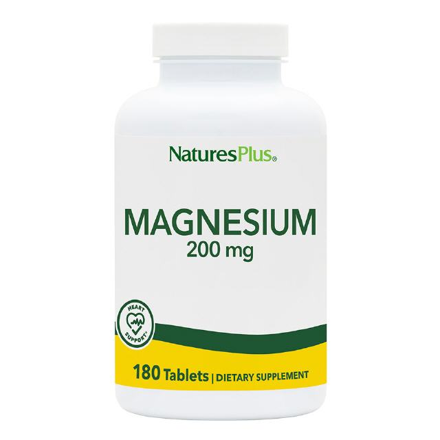 Magnesium 200 mg  180 Tabletten Natures Plus