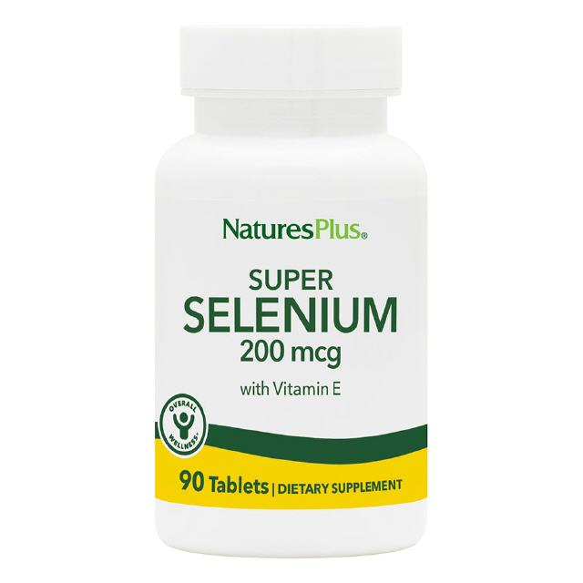 Super Selenium 200 µg  90 Tabl. Natures Plus