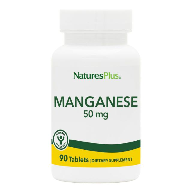 Mangan 50 mg 90 Tabletten Natures Plus