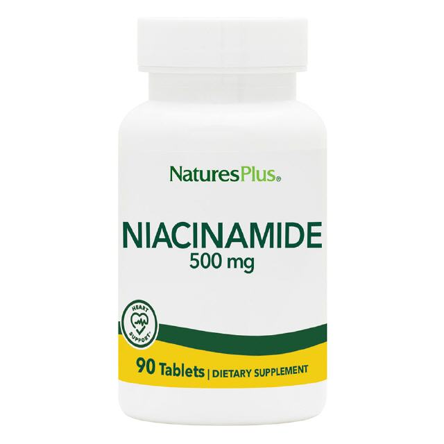 Niacinamide 500 mg  90 Tabletten Natures Plus