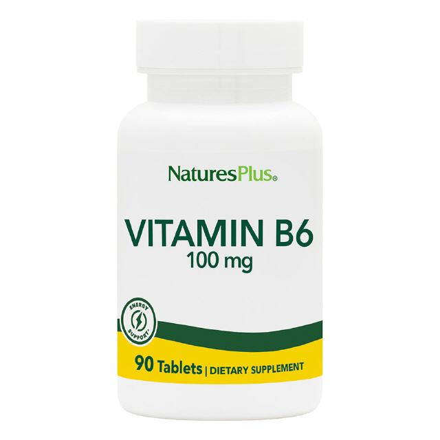 Vitamin B6 100 mg 90 Tabletten Natures Plus