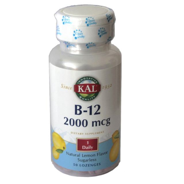 Vitamin B12  2000 µg 50 Tabletten KAL