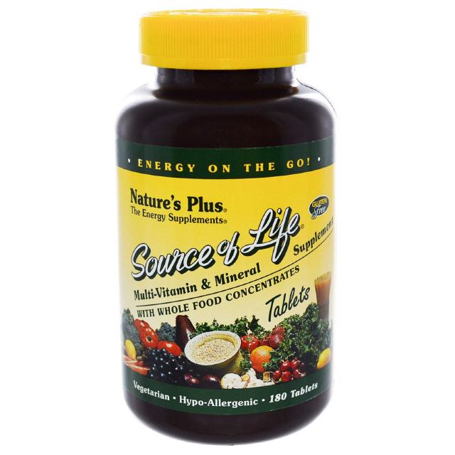 Source of Life  180 Tabletten  Natures Plus