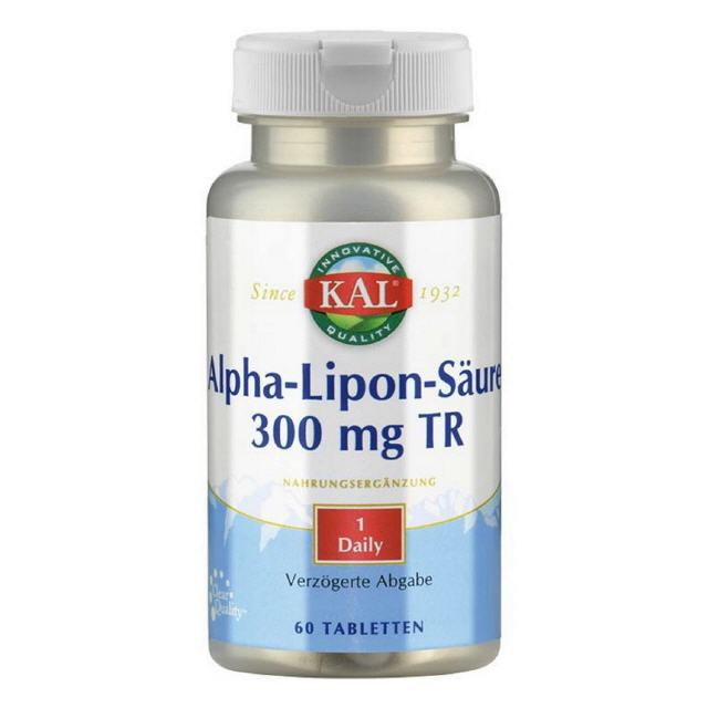 Alpha-Liponsäure S/R 300 mg 60 Tabletten KAL