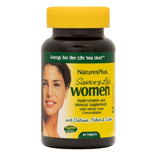 Source of Life Women 60 Tabletten  Natures Plus