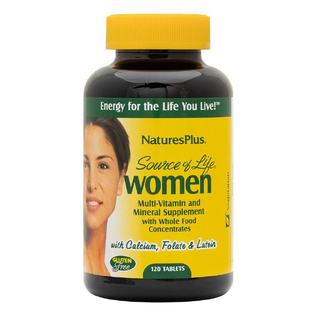 Source of Life Women 120 Tabletten  Natures Plus