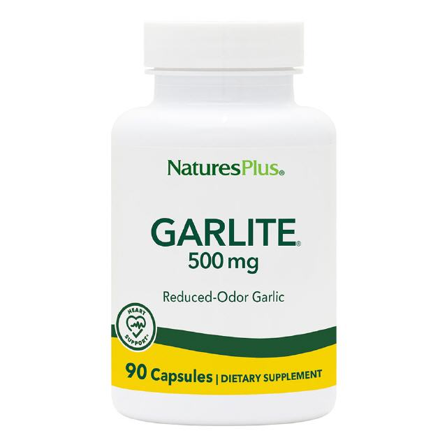 Garlite® 500 mg 90 veg. Kapseln Natures Plus